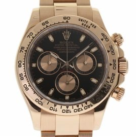 Rolex Daytona 116505 Rose Gold 40mm Automatic Mens Watch