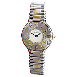 Cartier Must De Cartier 21 Vintage 28mm Womens Watch