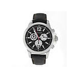 Mens Tourneau 5050.B Steel Chronograph 42MM Quartz Date Watch