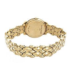 Chaumet Women's 18k Yellow Gold White Dial Watch