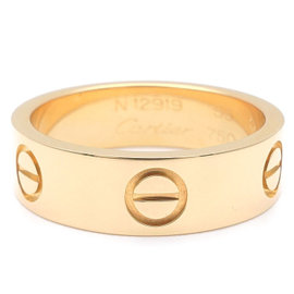 Cartier Love 18K Yellow Gold Ring Size 6.5