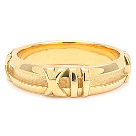 Tiffany & Co. Atlas 18K Yellow Gold Ring Size 5