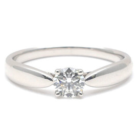 Tiffany & Co. Platinum 0.25ct. Diamond Ring Size 5.5