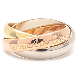 Cartier Trinity 18k Gold Ring Size 4.5
