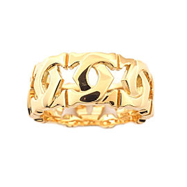 Cartier Entrelace 18K Yellow Gold Ring Size 5
