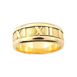 Tiffany & Co. Atlas 18K Yellow Gold Ring Size 5.5