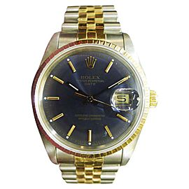 Rolex Oyster Perpetual Date 34mm Mens Watch
