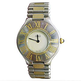 Cartier Must De 21 Vintage 31mm Womens Watch