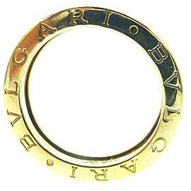 Bulgari B. Zero1 18K Yellow Gold Ring Size 8.5