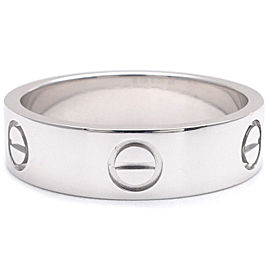 Cartier Love Ring PT950 Platinum Size 8.5
