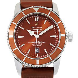 Breitling Superocean Heritage 46 Bronze Dial Rubber Strap Watch A17320