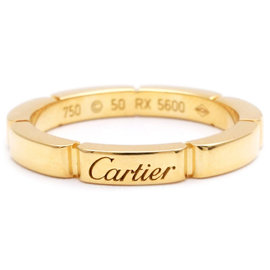 Cartier Maillon Panthère Ring Yellow Gold