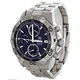 Tag Heuer Men's 300M Aquaracer Automatic Chronograph Black Dial Watch CAF2112