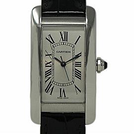 Cartier Tank Americaine WSTA0010 41.6mm Unisex Watch