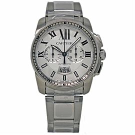 Cartier Calibre De Cartier W7100045 42mm Mens Watch