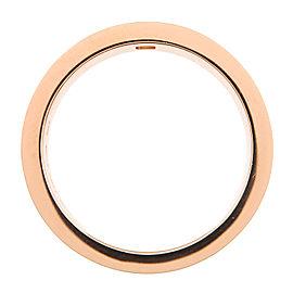 Bvlgari Double 18K Rose Gold Diamond Ring