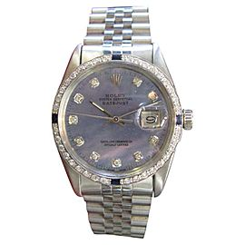 Rolex Oyster Perpetual Datejust 1603 36mm Mens Watch