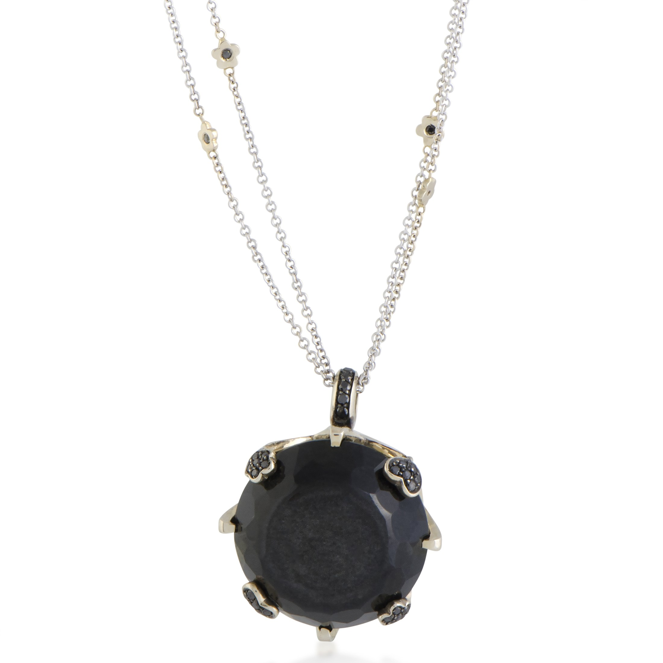 the to strands full black ruby overlay lane with time click pendant dragon onyx expand item of
