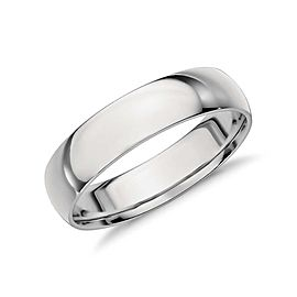 Tiffany & Co. Platinum Wedding Ring Size 9.25