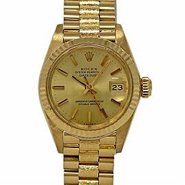 Vintage Rolex Datejust 6917 26.0mm Womens