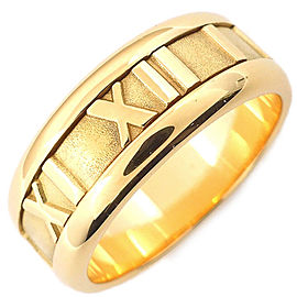 Tiffany & Co. Atlas 18K Yellow Gold Rings Size 5.5