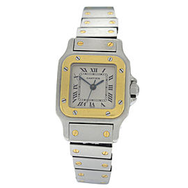 Cartier Santos Galbee 18K Yellow Gold Automatic 24MM Watch