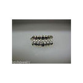 14K YELLOW GOLD LADIES DIAMOND RING SIZE 9