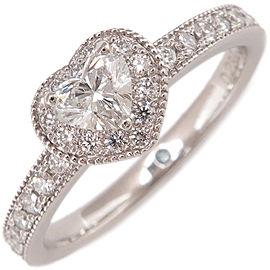 Ponte Vecchio Platinum Diamond Engagement Ring Size 6