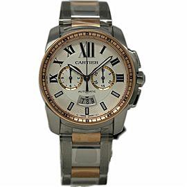 Cartier Calibre W7100042 42.0mm Mens Watch