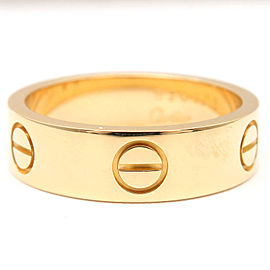 Cartier 18K Yellow Gold Ring Size 7