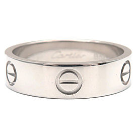 Cartier Platinum Ring Size 8.5