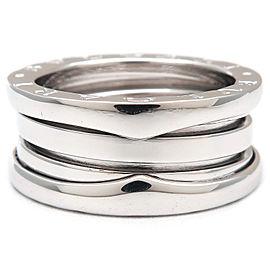 Bvlgari 18K White Gold Ring Size 5.5