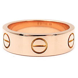 Cartier 18K Rose Gold Love Ring Size 6