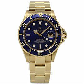Rolex Submariner 16808 40mm Mens Watch