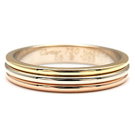 Cartier YG/WG/PG Three Color Ring Size 8.5