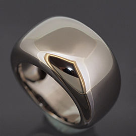 Cartier 18K WG NOUVELLE VAGUE Ring Size 5.75