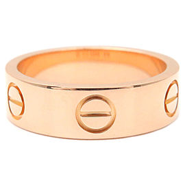 Cartier 18K RG Love Ring Size 6