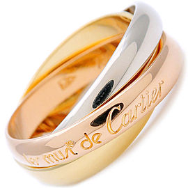 Cartier 18K Trinity Ring Size 6