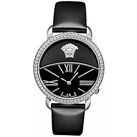 New Versace Krios 93Q99D008 S009 Stainless Steel 38MM Quartz Watch