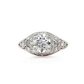 Platinum Diamond Ring Size 5.25