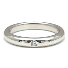 Tiffany & Co. Platinum Diamond Ring Size 5