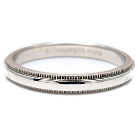 Tiffany & Co. Platinum Ring Size 9.5