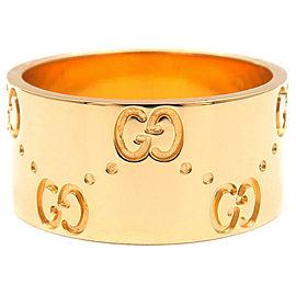 Gucci 18K YG Ring Size 6