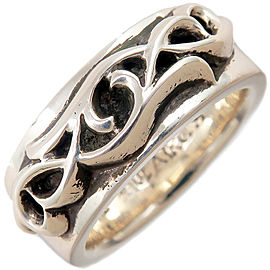 Chrome Hearts Sterling Silver Ring Size 9.5