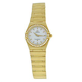 Omega Constellation 25mm Womens Watch