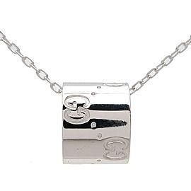 Gucci 18K WG Icon Necklace