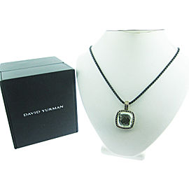 David Yurman Sterling Silver Iolite Necklace