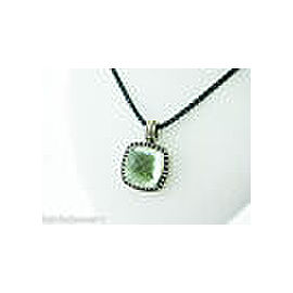 David Yurman Sterling Silver Iolite Necklace
