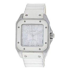 Cartier Santos 2878 33mm Womens Watch