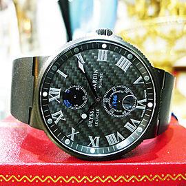 Ulysse Nardin Maxi Marine Chronometer 41mm Black Mens Watch